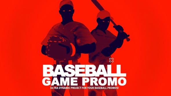 Videohive Baseball Game Promo 22642742
