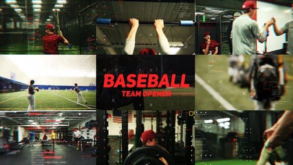 Videohive Baseball Team Opener 23143203
