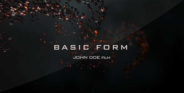 Videohive Basic Form - Movie Titles 6516122