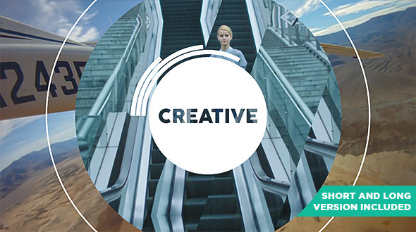 Videohive Be Creative - Fast Dynamic Opener 11550161
