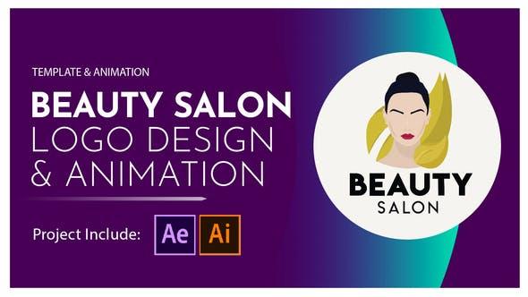 Videohive Beauty Salon Logo Design and Animation 28581380