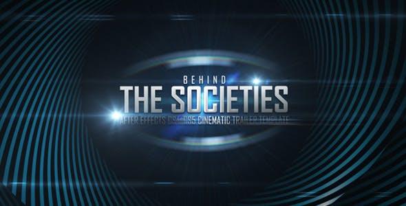 Videohive Behind Societies - Trailer 2063582