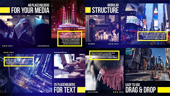 Videohive Big City Slides 12842487