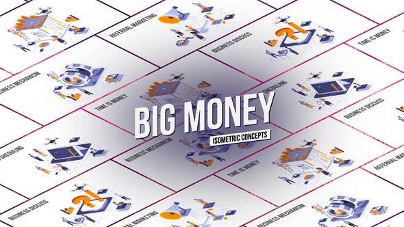 Videohive Big Money - Isometric Concept 27458539