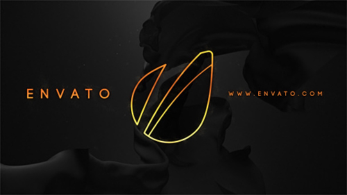 Videohive Black And Gold Logo Reveal