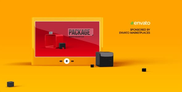Videohive Black And Yellow Broadcast Package 6367734