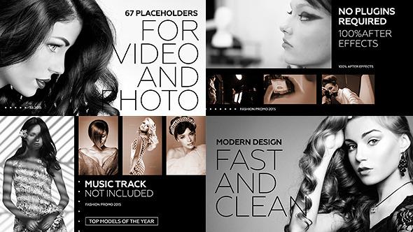 Videohive Black Fashion Promo 12070187