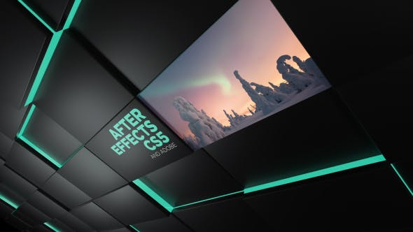 Videohive Black Wall Slideshow 14328778