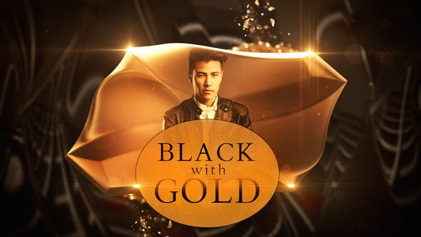 Videohive Black with Gold 23144791