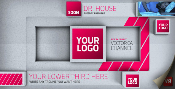 Videohive Blocks Broadcast Channel Pack 2846993