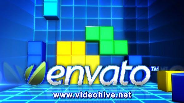 Videohive Blocks Logo Reveal 4941785