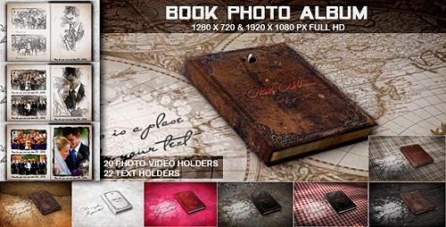 Videohive Book Photo Album 3371645