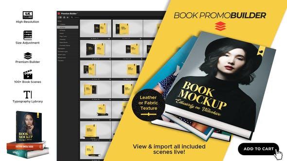 Videohive Book Promo Builder 25234937