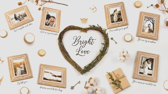 Videohive Bright Love 25745619