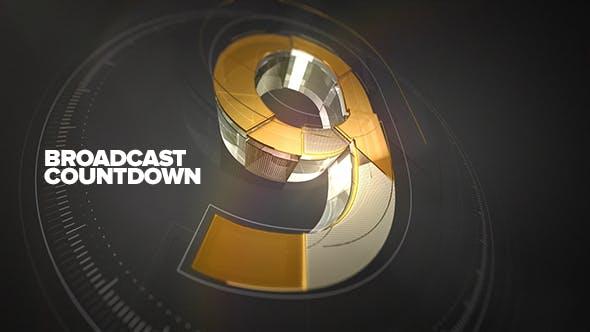 Videohive Broadcast Countdown 15939861