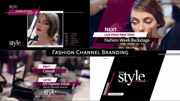 Videohive Broadcast Design - Fashion TV Channel Package 5165502