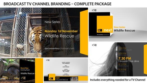 Videohive Broadcast Design - TV Channel Branding 1 3073188