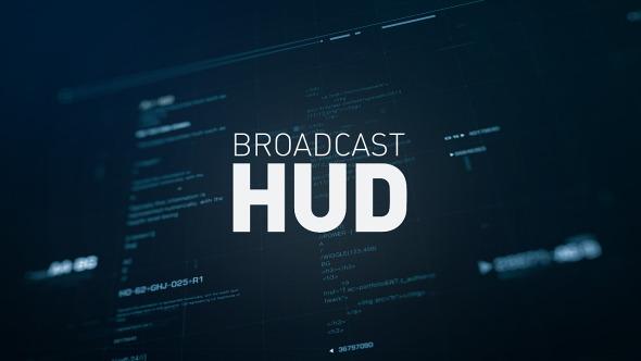 Videohive Broadcast HUD 10251206
