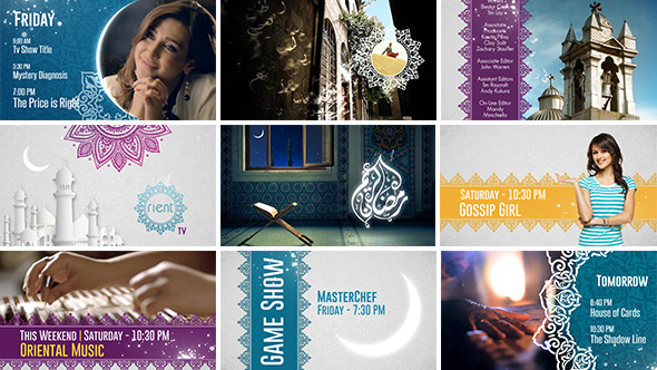 Videohive Broadcast Ident Package - Ramadan Special -7767504