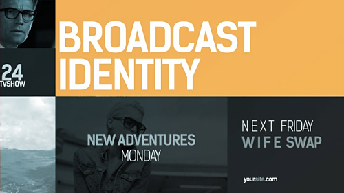 Videohive Broadcast Identity pack