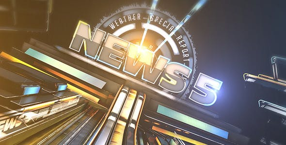 Videohive Broadcast News 5 7598435