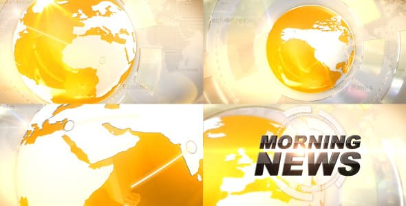 Videohive Broadcast News Idents 2788550