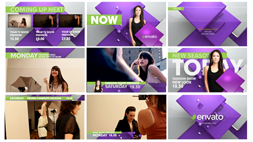 Videohive Broadcast TV Graphic Package 18464820