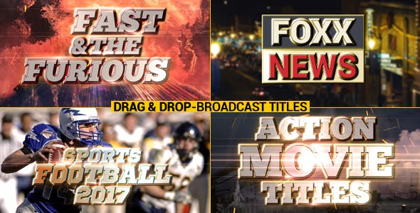 Videohive Broadcast Title Pack 17549412