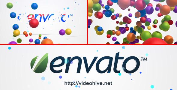 Videohive Bubble Logo Intro