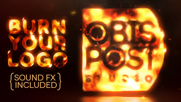Videohive Burn Your Logo 3050130