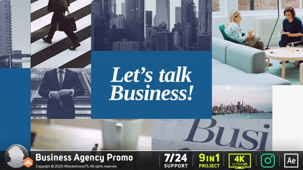 Videohive Business Agency Promo 26561144