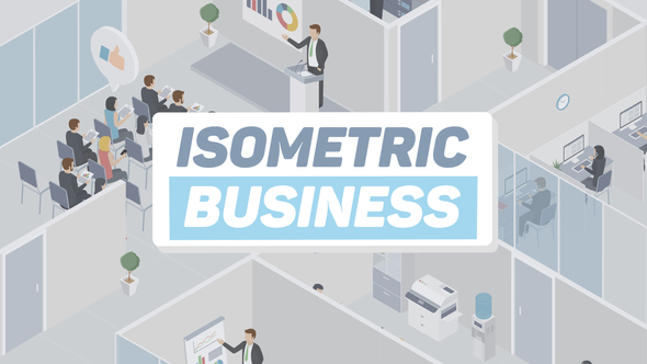 Videohive Business Isometric 22162004