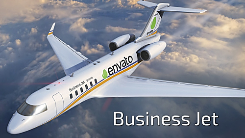 Videohive Business Jet 9647287