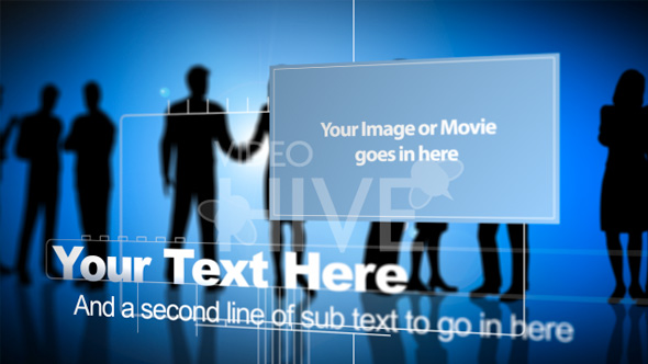 Videohive Business People 33813