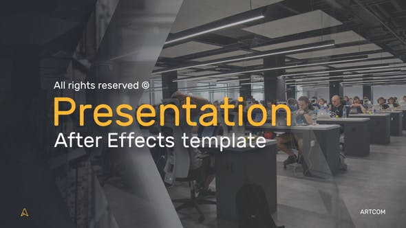 Videohive Business Presentation - Company Presentation 22609254