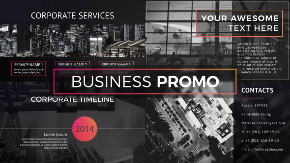 Videohive Business Promo 19925068