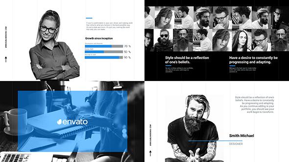 Videohive Business Slideshow Corporate Promo Clean Opener 19315582