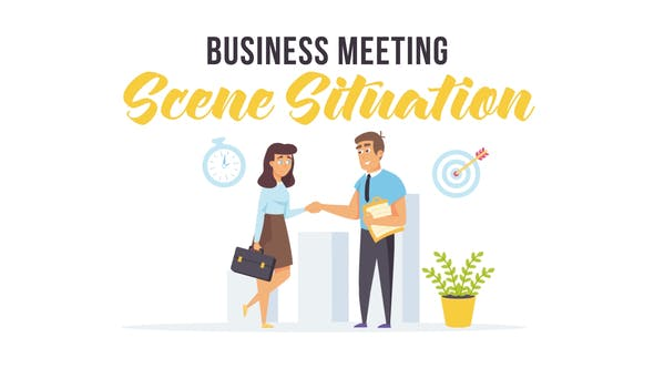 Videohive Business meeting - Scene Situation 27596966