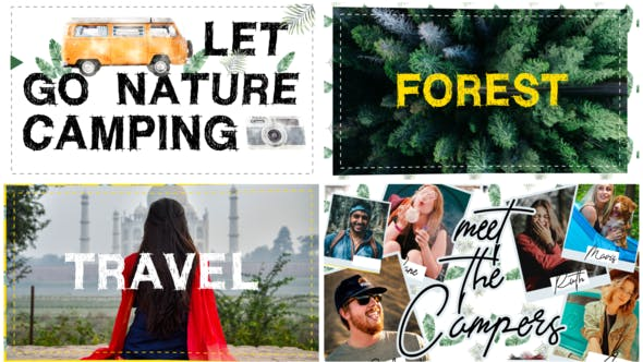 Videohive Camping Travel Adventure 26851100