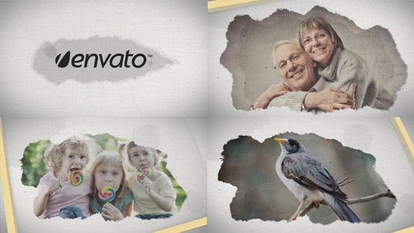 Videohive Canvas Ink Slides 5184463