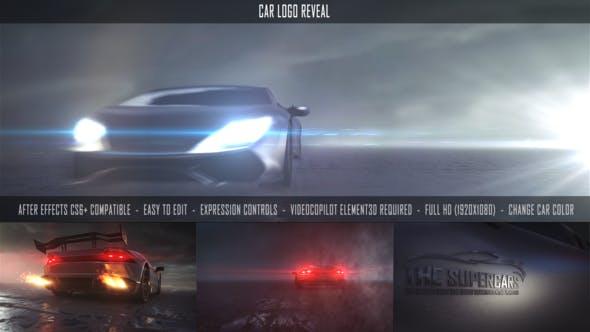 Videohive Car Logo Reveal 27482444