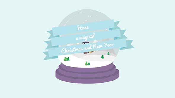 Videohive Cartoon Christmas Postcard 03 13866800