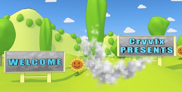 Videohive Cartoon Park 3D Animation