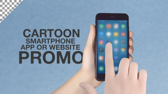Videohive Cartoon Smartphone App Promo ToolKit 20299001