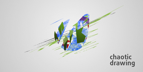 Videohive Chaotic Drawing 5436321