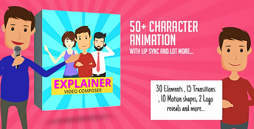 Videohive Character Animation Composer 17045232