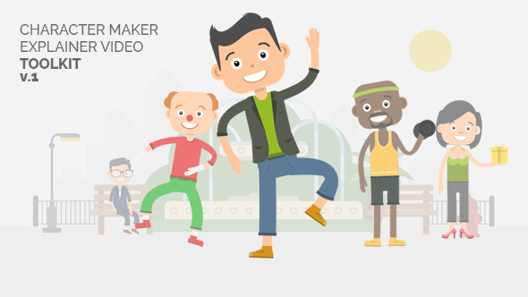Videohive Character Maker - Explainer Video Toolkit 18731193