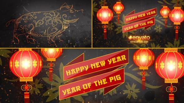 Videohive Chinese New Year Opener 2019 19277125