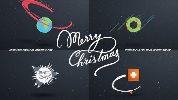 Videohive Christmas Card Cartoon 13627459