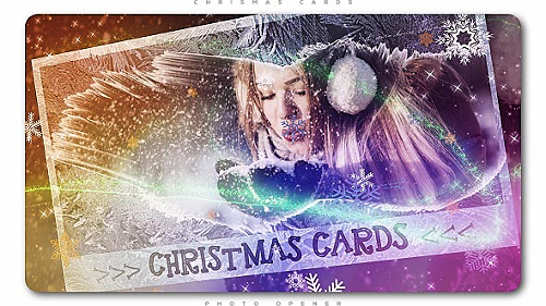 Videohive Christmas Cards Photo Opener 20908489